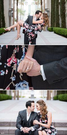 Downtown Las Vegas Engagement Session | KMH Photography | Las Vegas Wedding Photographer