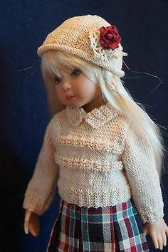 "Effner 13"" Little Darling Prim Proper Plaid Ensemble by Ladybugs Doll Design   eBay. Sold 11/23/13 for $160.12."