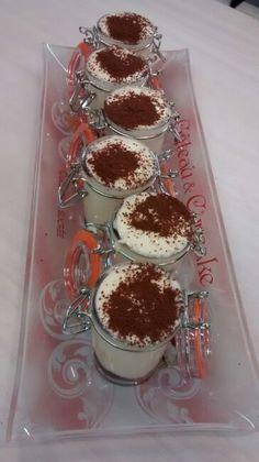 Tiramissu sin gluten en mini-tarro