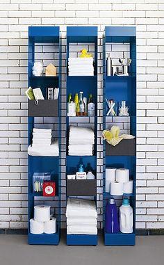 Bathroom bookshelves from Chatelaine Magazine