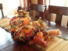 Rustic accents fall cloth pumpkin decorations by RusticAccents, $37.99