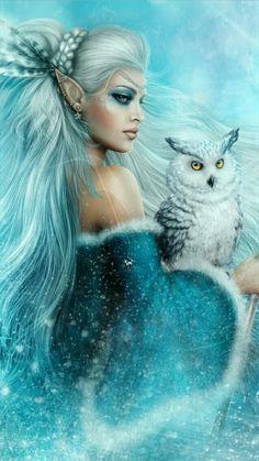 Image in ⓕⓐⓝⓣⓐⓢⓨ collection by ღĻαԃყ ʅσʅʅყ ϝʅყღ Fantasy Girl, Fantasy Art Women, Beautiful Fantasy Art, Beautiful Fairies, Dark Fantasy, Beautiful Things, Beautiful Pictures, Fairy Pictures, Fantasy Pictures