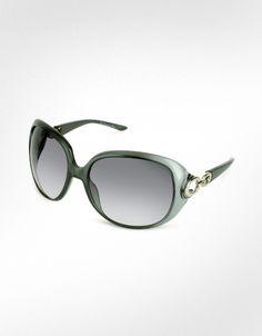 Christian Dior - Dior Lady 1 - Signature Ring Temple Sunglasses $385.00