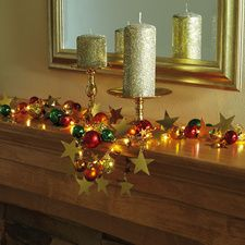 Light-up Tabletop Garland