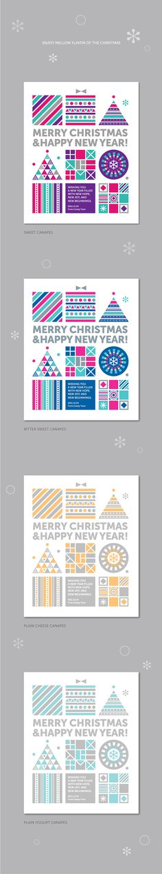 2011 Christmas Canapes on Behance
