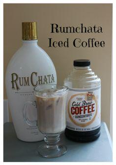 Rumchata Iced Coffee Rumchata Iced Coffee, a delicious iced coffee cocktail with rumchata. – Cocktails and Pretty Drinks Rumchata Drinks, Rumchata Recipes, Coffee Cocktails, Easy Cocktails, Summer Cocktails, Popular Cocktails, Craft Cocktails, Coffee Wine, Iced Coffee
