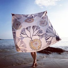 °★ ☽ FORGET ME NOT ☾ ★ ° scarf #douarnenez #france #seacreature #shell