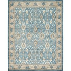 You'll love the Ogburn Light Blue Area Rug at Joss & Main - With Great Deals on all products and Free Shipping on most stuff, even the big stuff.