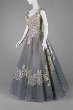 Anne Lowe evening dress, 1960
