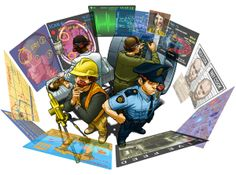 Golden-i Story Boards by Thinkable Studio, via Behance