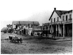Historical view of Front Street at Boot Hill!