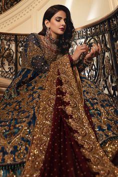 Latest Bridal Dresses, Asian Bridal Dresses, Asian Wedding Dress, Pakistani Wedding Outfits, Indian Bridal Outfits, Pakistani Wedding Dresses, Girls Dresses Sewing, Yennefer Of Vengerberg, Desi Wedding