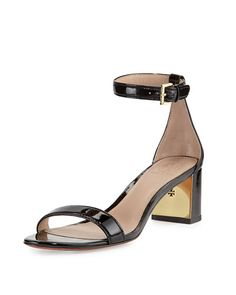 cc81c4628cef Tory Burch at Neiman Marcus. Strappy SandalsBlack SandalsLeather ...