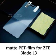 Glossy Clear Lucent Frosted Matte Anti glare Tempered Glass Protective Film On Screen Protector For ZTE Blade L3 g01