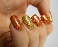Thanksgiving nails 1