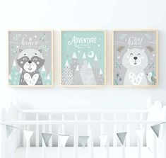 Yellow and Grey Nursery Yellow and Grey Wall Art Yellow Grey Yellow Nursery Decor, Turquoise Nursery, Baby Blue Nursery, Turquoise Wall Art, Nursery Decor Boy, Nursery Wall Art, Woodland Nursery Prints, Woodland Animal Nursery, Woodland Animals