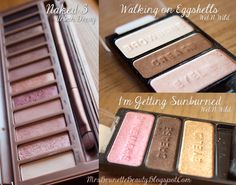 Urban Decay Naked3 Eyeshadow Dupes at the drugstore: Wet N WIld trios!!!! pin now read later how to make all the shades using these 6 colors for only $6