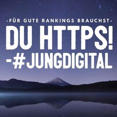 Ohne https keine guten Rankings. #contentmarketing #seo #sea #onlinemarketing #conversionrates #suchmaschinenoptimierung #digitalmarketing #contentboosting #storytelling #jungdigital
