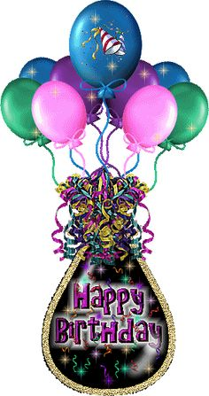 Happy Birthday Balloons Images Free Animated Cards