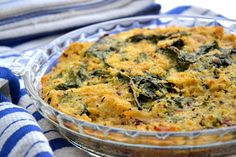 Quinoa-Spinach-Bake-Recipe. Quinoa Spinach, Spinach Bake, Gluten Free Casserole, Casserole Recipes, Best Gluten Free Recipes, Healthy Recipes, Healthy Foods, Baking Recipes, Whole Food Recipes