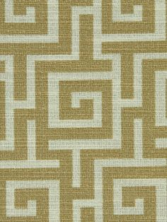 Modern Upholstery Fabric Greek Key Fabric by greenapplefabrics