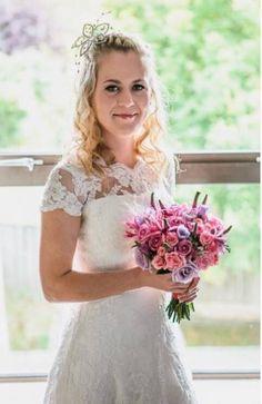 Elite bride Claire on her wedding day