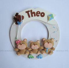 Porta Maternidade   ateliê três meninas   202244 - Elo7