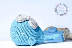 Stuffed whale toy blue whale baby rattle crochet toddler toy cuddly baby whale for baby room cute rattle baby gift soft toys baby Toddler Toys, Baby Toys, Whale Pattern, Baby Whale, Etsy Coupon, Crochet Toddler, Baby Rattle, Baby Gifts, Dinosaur Stuffed Animal