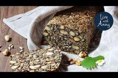 Semínkový chleba s ořechy | pečivo bez lepku a mouky | veganské