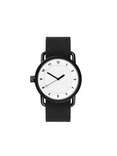 TID Watches - TID No.1 White / Coal Twain Wristband