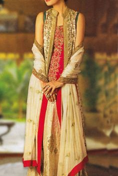 Beautiful Wedding Style Party Dress with Printed Dupatta