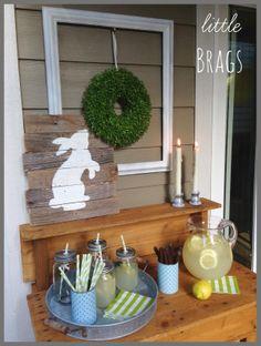 Little Brags: Outdoor Serving Station