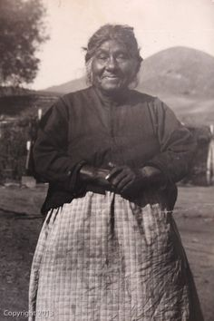 Isabelle Thing, Jane Dumas' mother, was a well known Kumeyaay Indian traditional healer