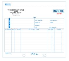 Invoice Books Custom Mesmerizing 4Part Cash Receipt Book Carbonless  Business Forms  Pinterest .