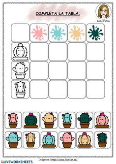 1st Grade Activities, Activities For Girls, Math For Kids, Autumn Activities, Craft Activities, Toddler Activities, Toddler Learning, Teaching Kids, K Crafts