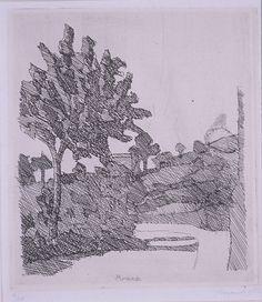 Giorgio Morandi, Grizzana Landscape