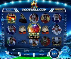 Football slot game from TradaCasino. Great graphics and it gives users a chance to increase winnings 4 fold with special gambling option.    https://tradacasino.com/uk/