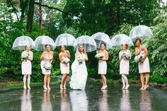 25 Of The Best Rainy Day Wedding Photos