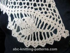 ABC Knitting Patterns - Dawn in the Woods Shawl.