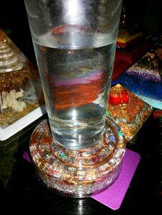 Orgonite Yellow Quartz, Shot Glass, Tableware, Beautiful, Dinnerware, Tablewares, Dishes, Place Settings, Shot Glasses