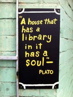 My house has a soul, even if it's a tiny soul...