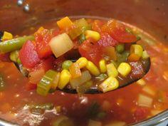 I Believe I Can Fry: Vegetable Soup (Vegetarian/Vegan) favorite Veggie soup recipe yet~ct
