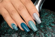 NEW! Autumn Blues Gelegance Gel Polish Collection Nails