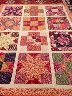 La-caprichosa-mis trabajos:   Mantas de patchwork realizadas por mi