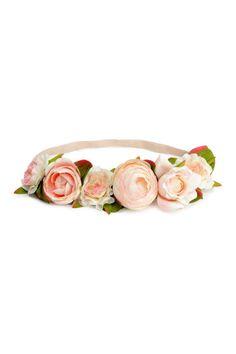 Diadema con flores | H&M
