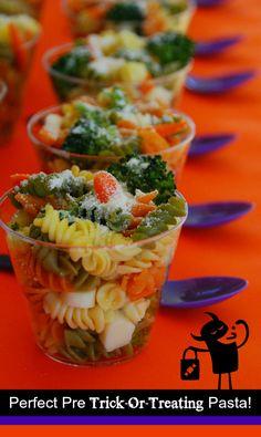 Easy Halloween Dinner Idea!  #EviteGatherings