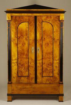 A Biedermeier armoire