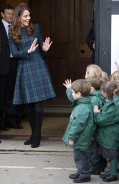 The Duchess visited the Pre-Prep school for Under-5s.