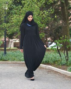 Laila Dress Abaya – Little Black Abaya