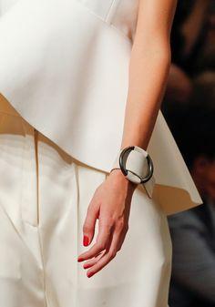 Celine leather cuffs · diy